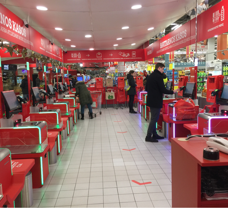 Proper implementation of self-checkouts allows the business to grow.